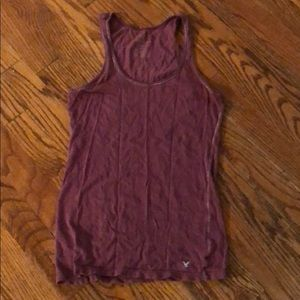 Old Navy maroon tank